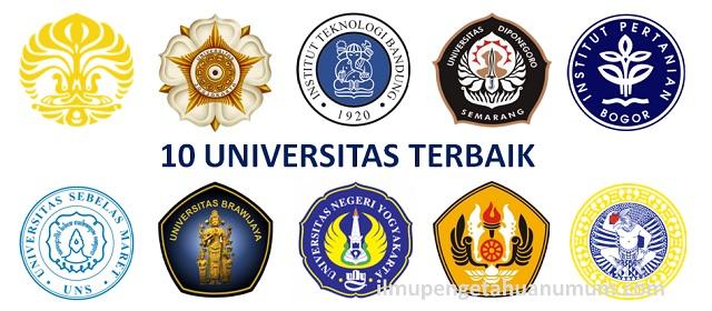 Daftar 10 Universitas Terbaik Di Indonesia