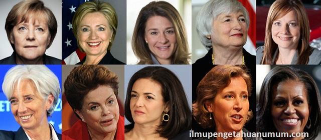 10 Wanita yang paling berpengaruh di dunia
