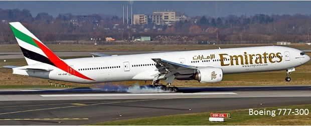 Pesawat Terbang Penumpang Sipil Boeing 777-300