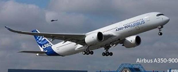 Pesawat Terbang Penumpang sipil Airbus A350-900
