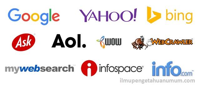 10 Mesin Pencari Internet (Search Engine) Terpopuler di Dunia