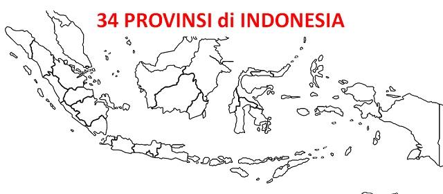 Provinsi Di Indonesia Beserta Ibukota Luas Wilayah Dan Tanggal Berdirinya