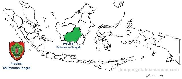 Daftar Kabupaten dan Kota di Provinsi Kalimantan Tengah