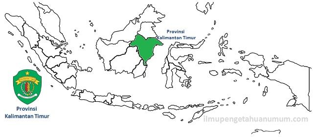 Daftar Kabupaten dan Kota di Provinsi Kalimantan Timur