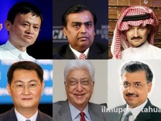 Daftar 10 Orang Terkaya di Asia