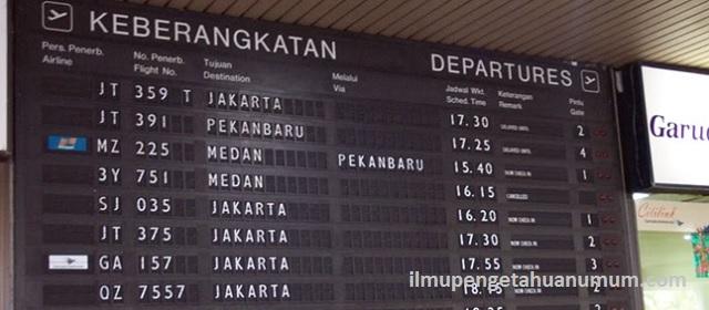 Daftar Bandara di Indonesia beserta Kode Bandara