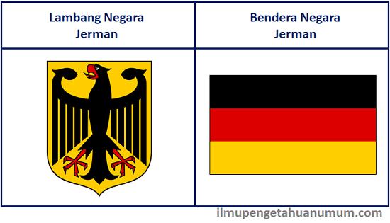 Lambang Negara dan Bendera Jerman