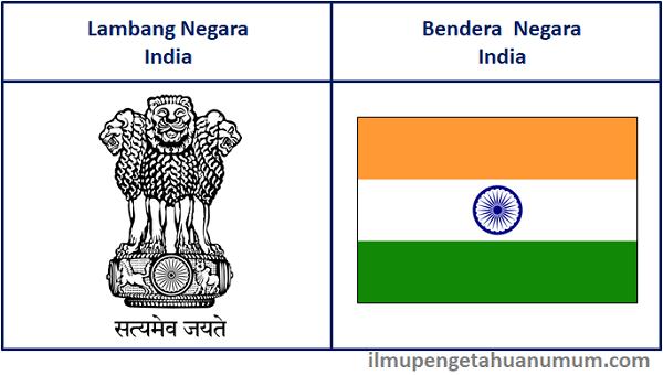 lambang Negara India dan Bendera India
