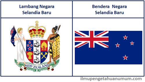 Lambang Negara Selandia baru dan Bendera Selandia Baru