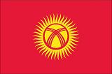 Bendera Kirgizstan