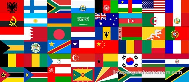Daftar Bendera Negara di Dunia