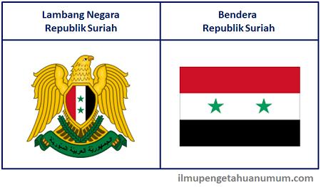 Lambang Negara dan Bendera Suriah