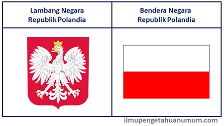 Lambang Negara Polandia dan Bendera Negara Polandia