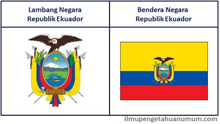 Lambang Ekuador dan Bendera Ekuador