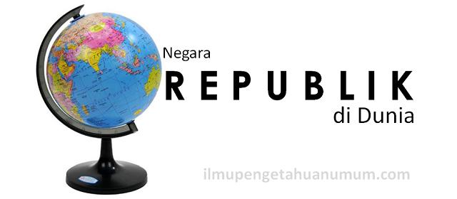 Negara-negara Republik di dunia