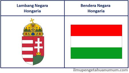 Lambang Negara dan Bendera Hongaria