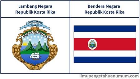Lambang dan Bendera Kosta Rika