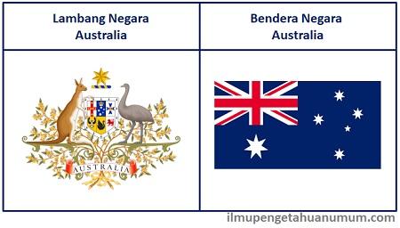 Lambang Australia dan Bendera Australia