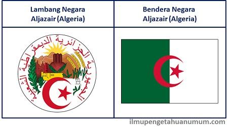 Lambang dan Bendera Negara Aljazair (Algeria)