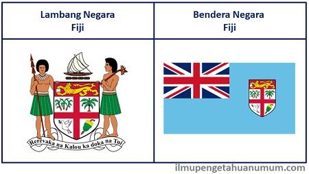 Lambang Fiji dan Bendera Negara Fiji