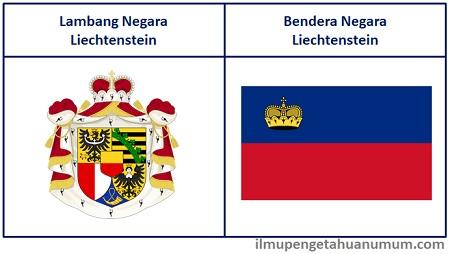 Lambang Negara Liechtenstein dan Bendera Negara Liechtenstein