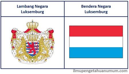 Lambang Negara Luksemburg dan Bendera Luksemburg