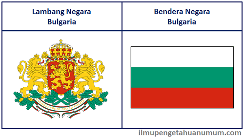 Lambang Negara dan Bendera Bulgaria