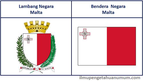 Lambang Negara Malta dan Bendera Malta