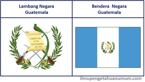 Lambang Negara Guatemala dan Bendera Guatemala