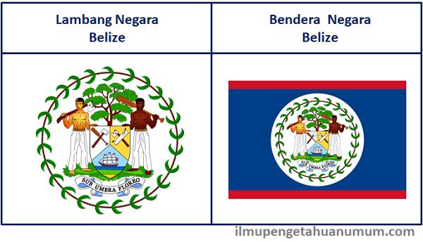 Lambang Negara Belize dan Bendera Belize