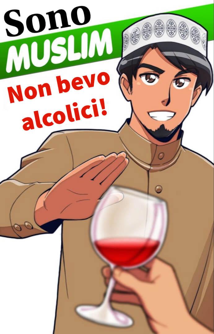 perché i musulmani non bevono alcol, perché i musulmani non bevono vino, Alcol nell'islam vietato, perché musulmani non bevono birra