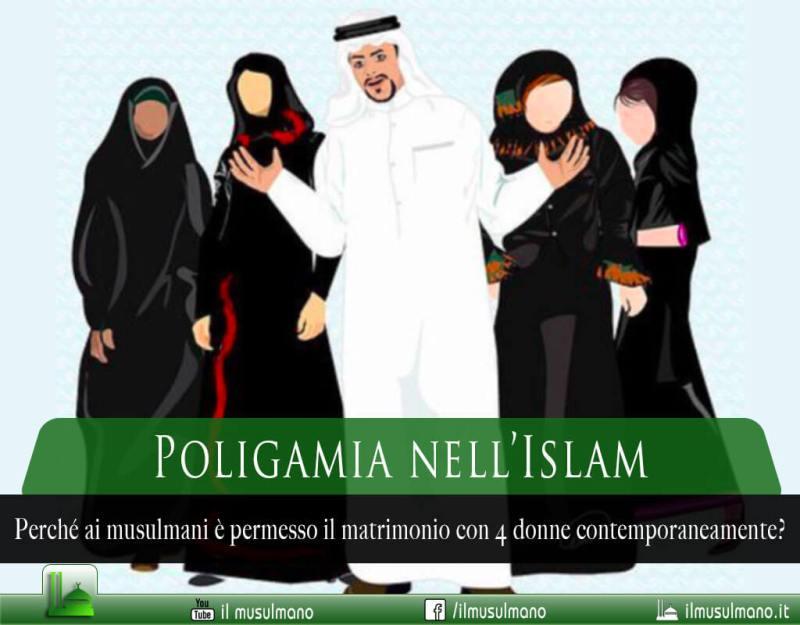 La poligamia nell'Islam
