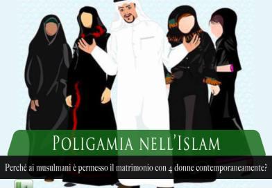 poligamia nell'islam, poliginia nell'islam, musulmani possono avere 4 mogli?,
