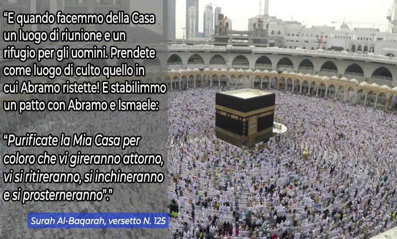 Kaaba nel Corano, Cos'è la Kaaba, perché i musulmani pregano rivolti verso la mecca