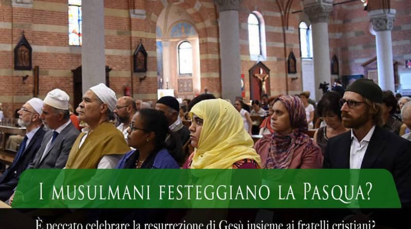 i musulmani festeggiano la Pasqua, i musulmani celebrano la Pasqua