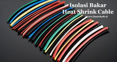 ilmuteknik.id - isolasi bakar - heat shrink cable