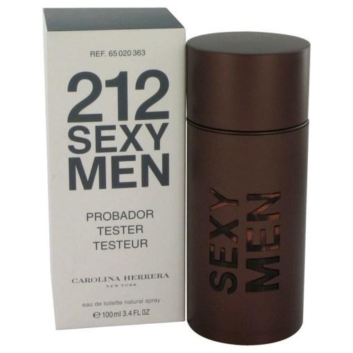 212 Sexy by Carolina Herrera - Eau De Toilette Spray (Tester) 100 ml f. herra