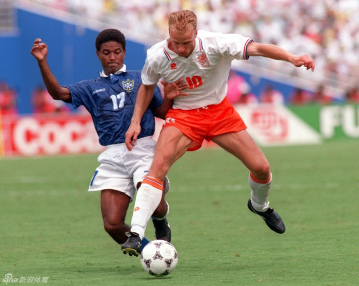 Bergkamp - 1994 World Cup pictures