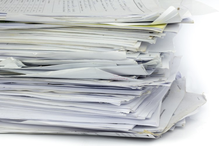 "A messy stack of papers.  <!-- HTML Credit Code for Can Stock Photo --> <a href=""https://www.canstockphoto.com"">(c) Can Stock Photo / Gloszilla</a>"