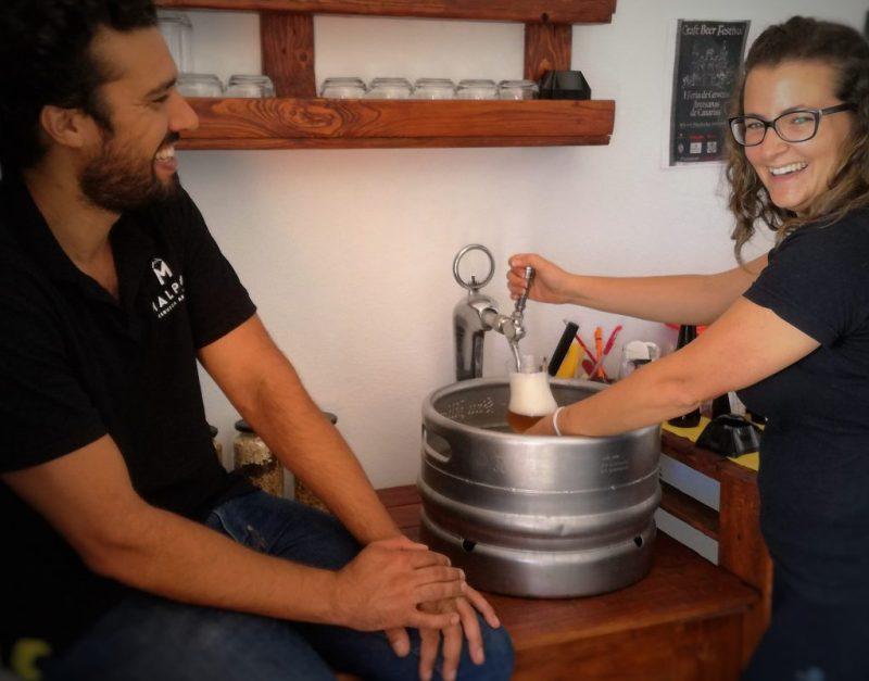 Tania e Orlando - Cervezas Malpeis