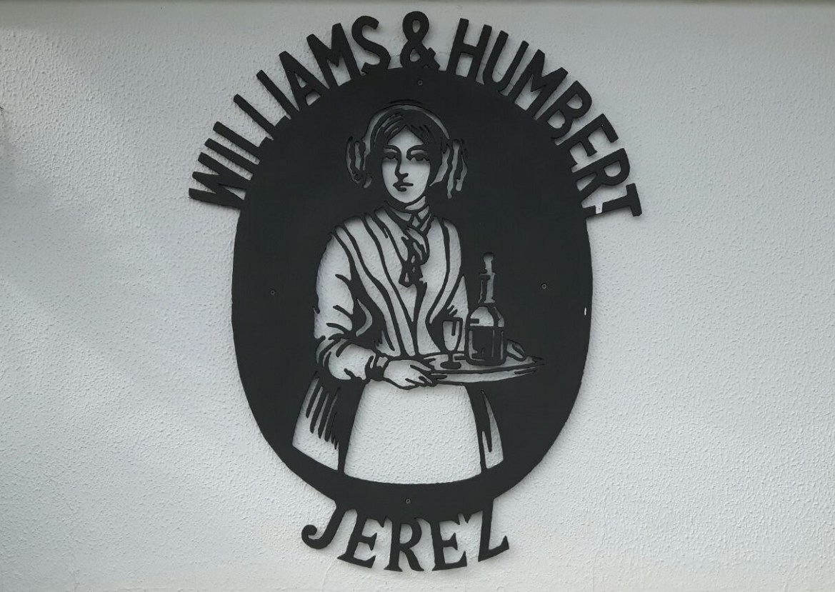 WILLIAMS&HUMBERT E LO SHERRY DENTRO AD UN QUADRO