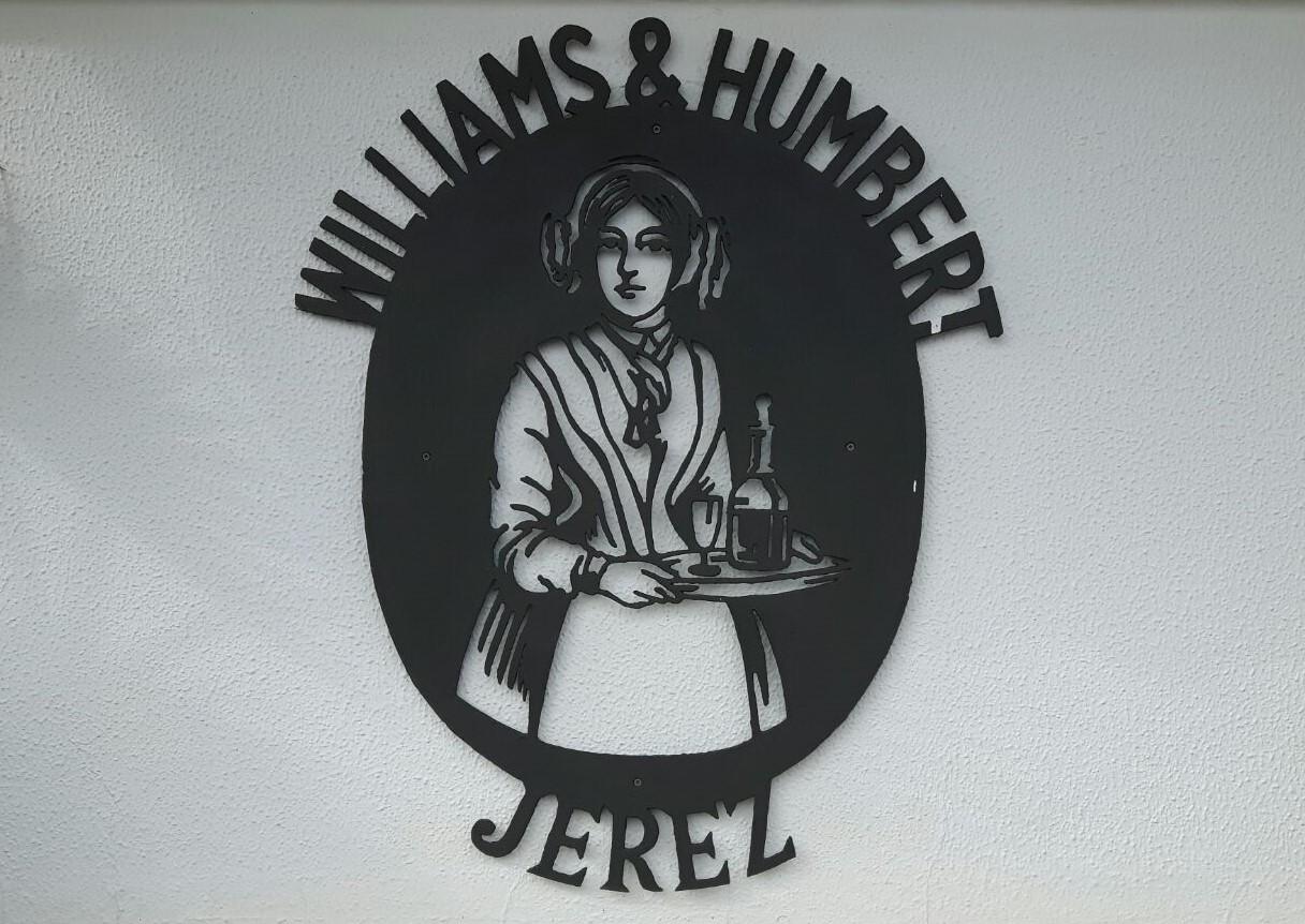 WILLIAMS&HUMBERT E LO SHERRY DENTRO AD UN QUADRO