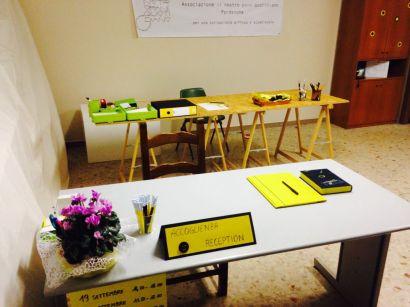 reception e registrazione richieste