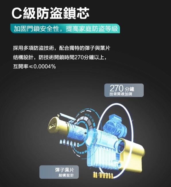 飛利浦電子鎖7300 philips 7300 台中電子鎖安裝推薦8