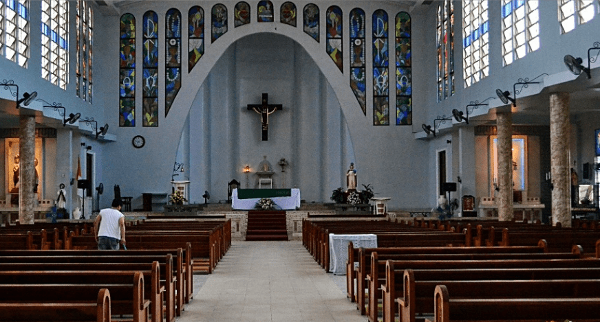 Interior of Oton Church
