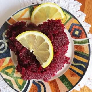 Lemony Beets Recipe