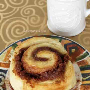 No yeast cinnamon rolls by ilonaspassion.com