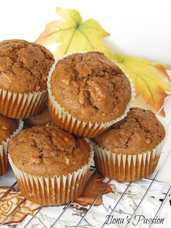 Lots of pumpkin muffins.