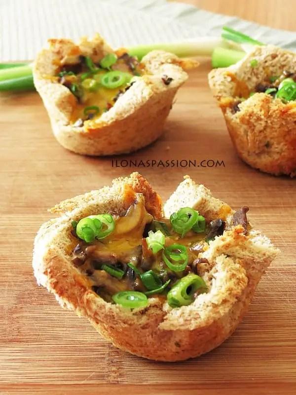 Mushroom-Mini-Quiche