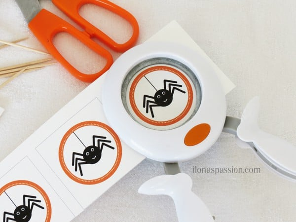 DIY Make Your Own Cupcake Toppers + Free Halloween Printable I ilonaspassion.com
